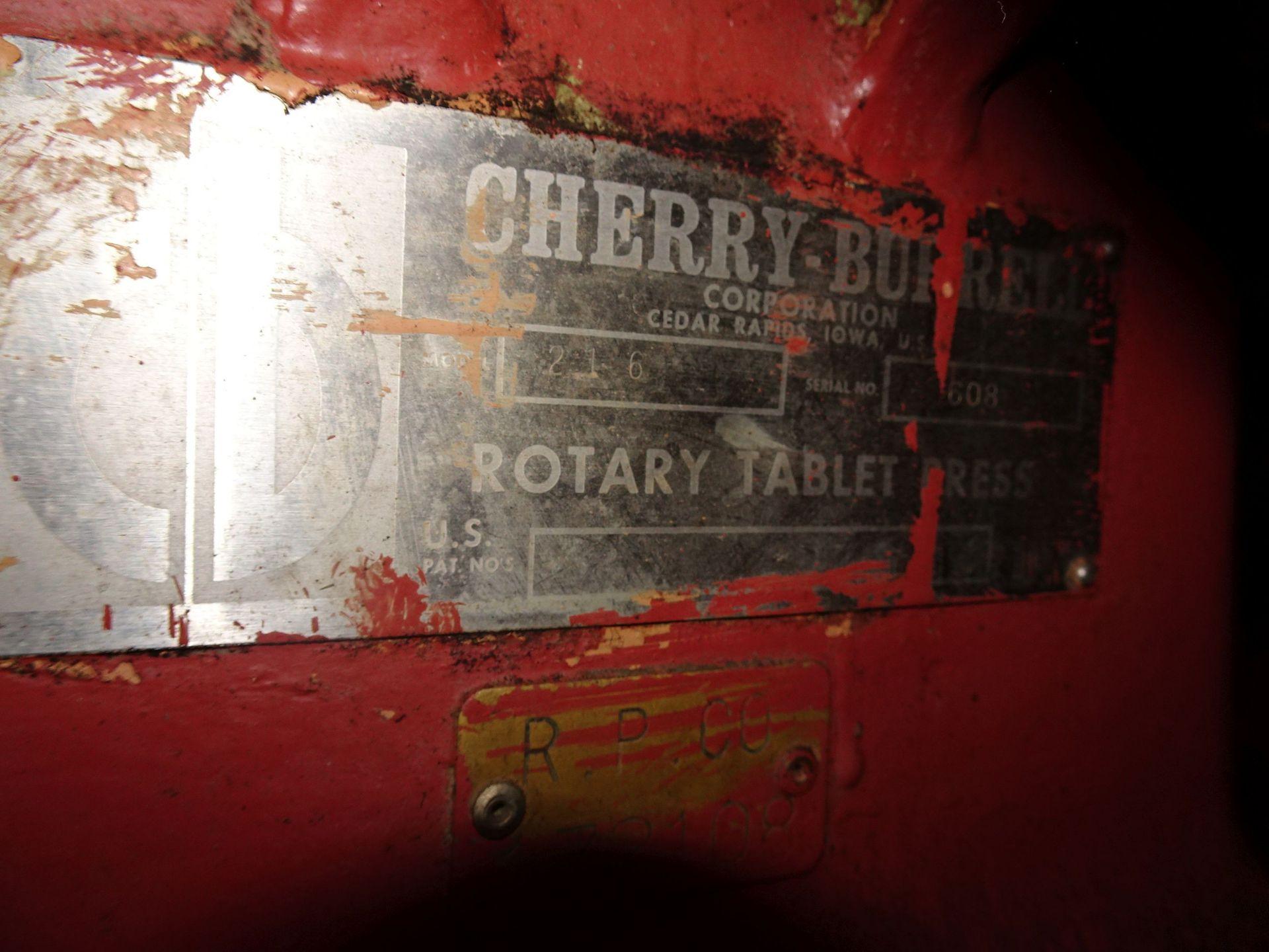 Lot 34 - Cherry Burrel 16-Station Tablet Press Model 216