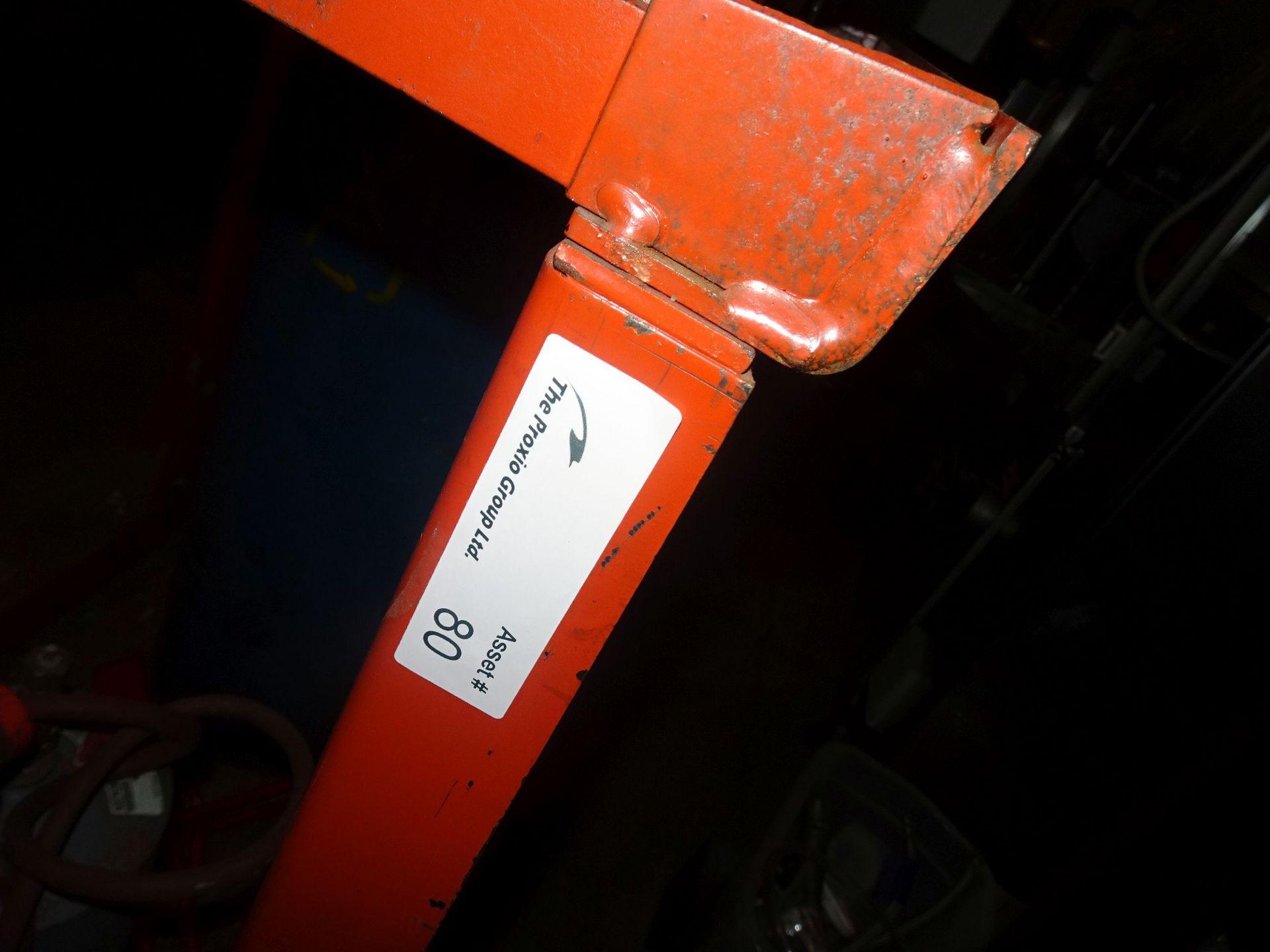 Lot 1 - 6-Position Bottle Cart with Fork Pockets