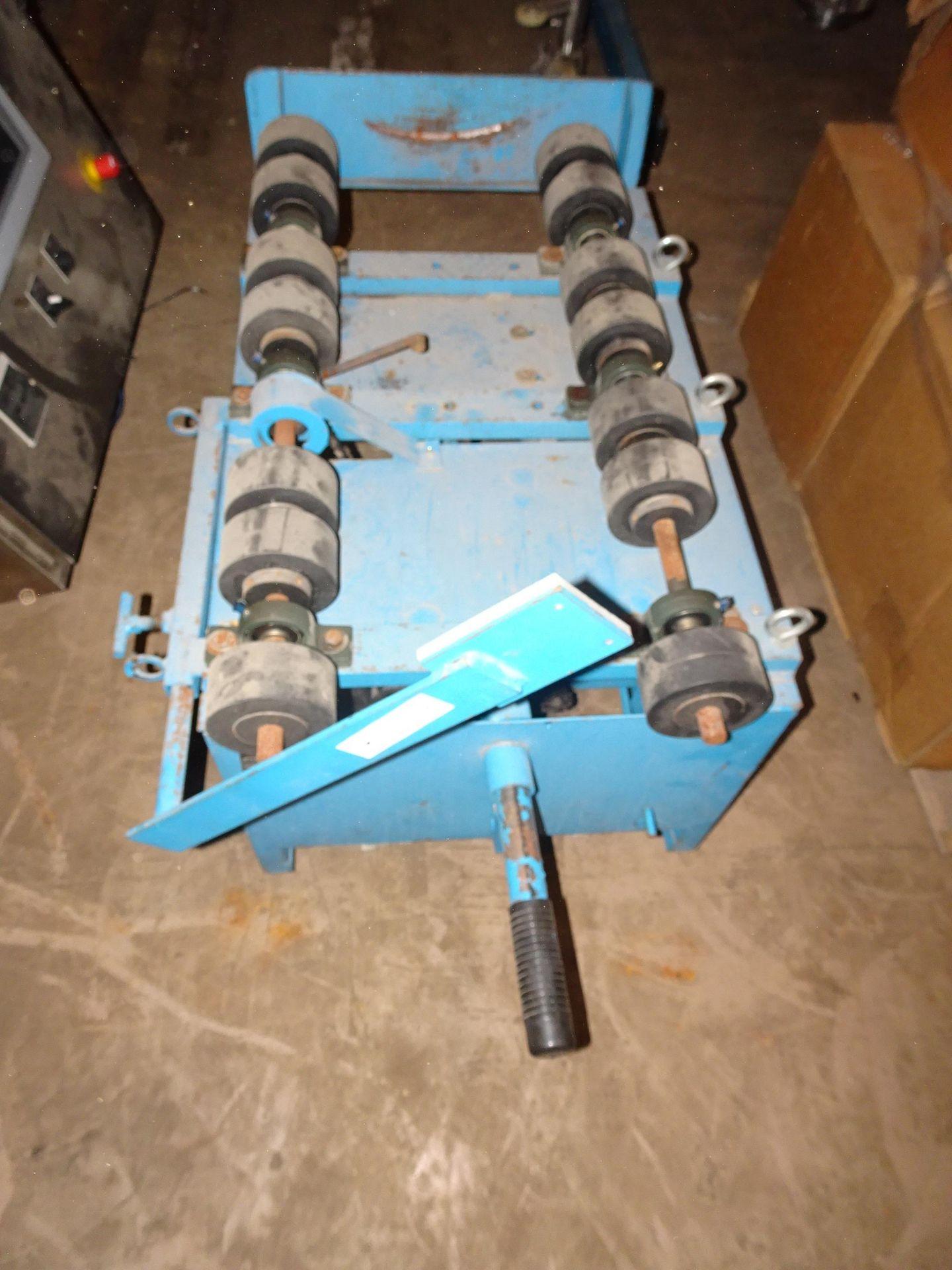 Lot 8 - Morse 201VS-1 Portable Horizontal Drum Cart With Horizontal Drum Rollers