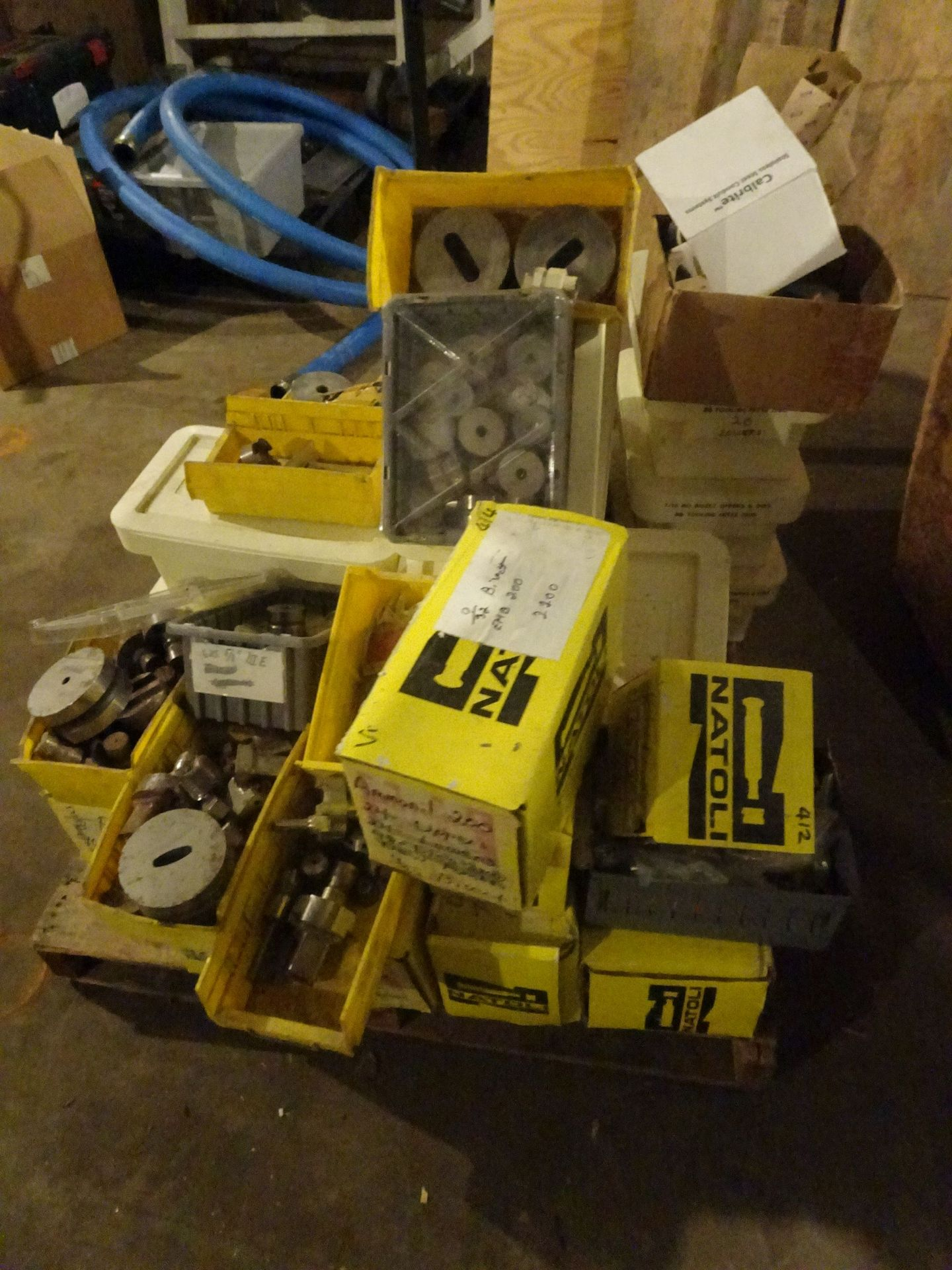 Lot 24 - Skid Lot of Various Natoli and Fette Tooling for Tablet Presses **See Auctioneers Note**