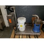 IKA Dispax Reactor, stainless steel construction, with 10 hp motor, base, reactor chamber,