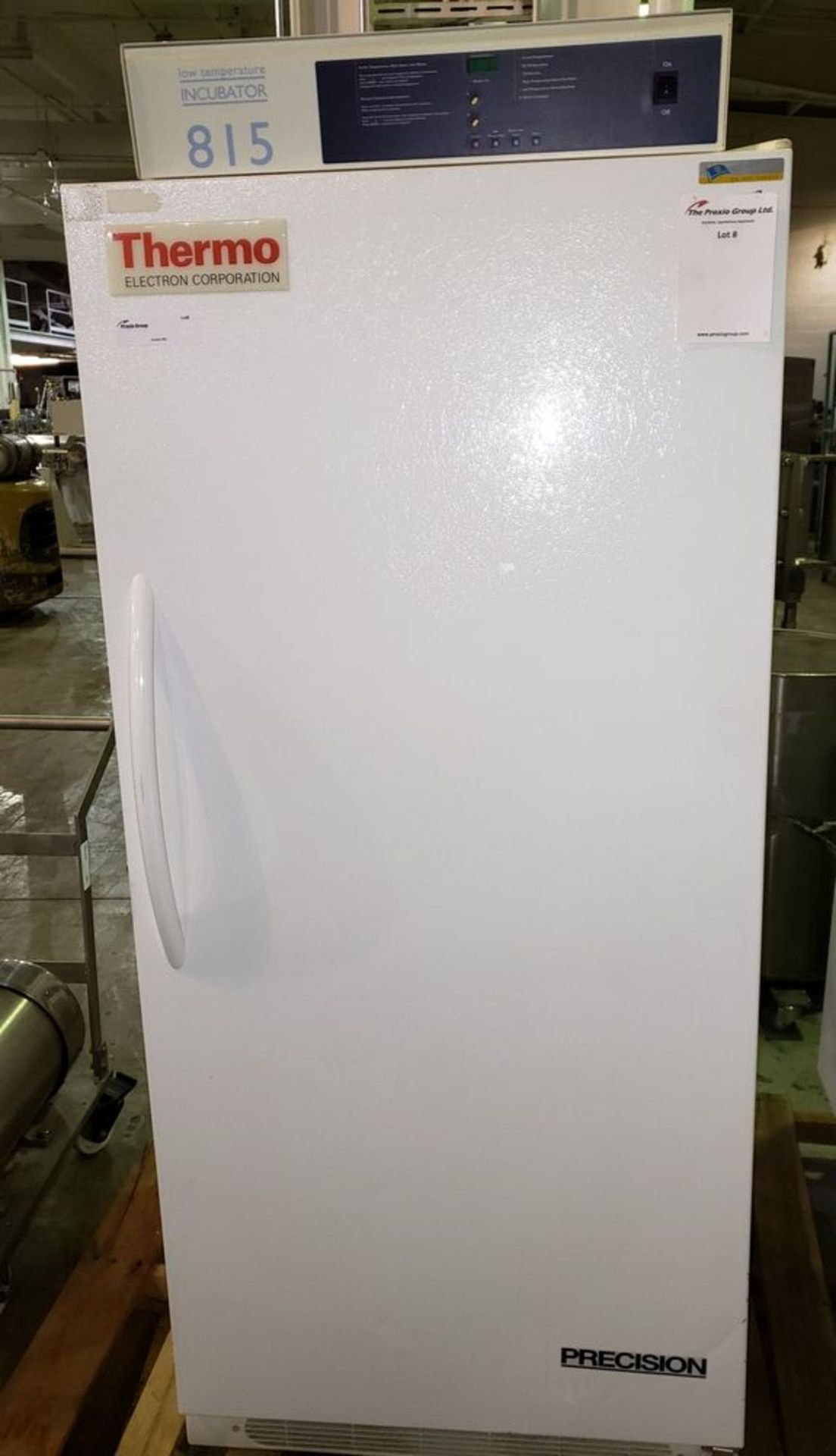 """Lot 70 - 20 cu ft Precision low temp BOD incubator, type 815, Cat# 5122-1106, approximately 26.5"""" wide x"""