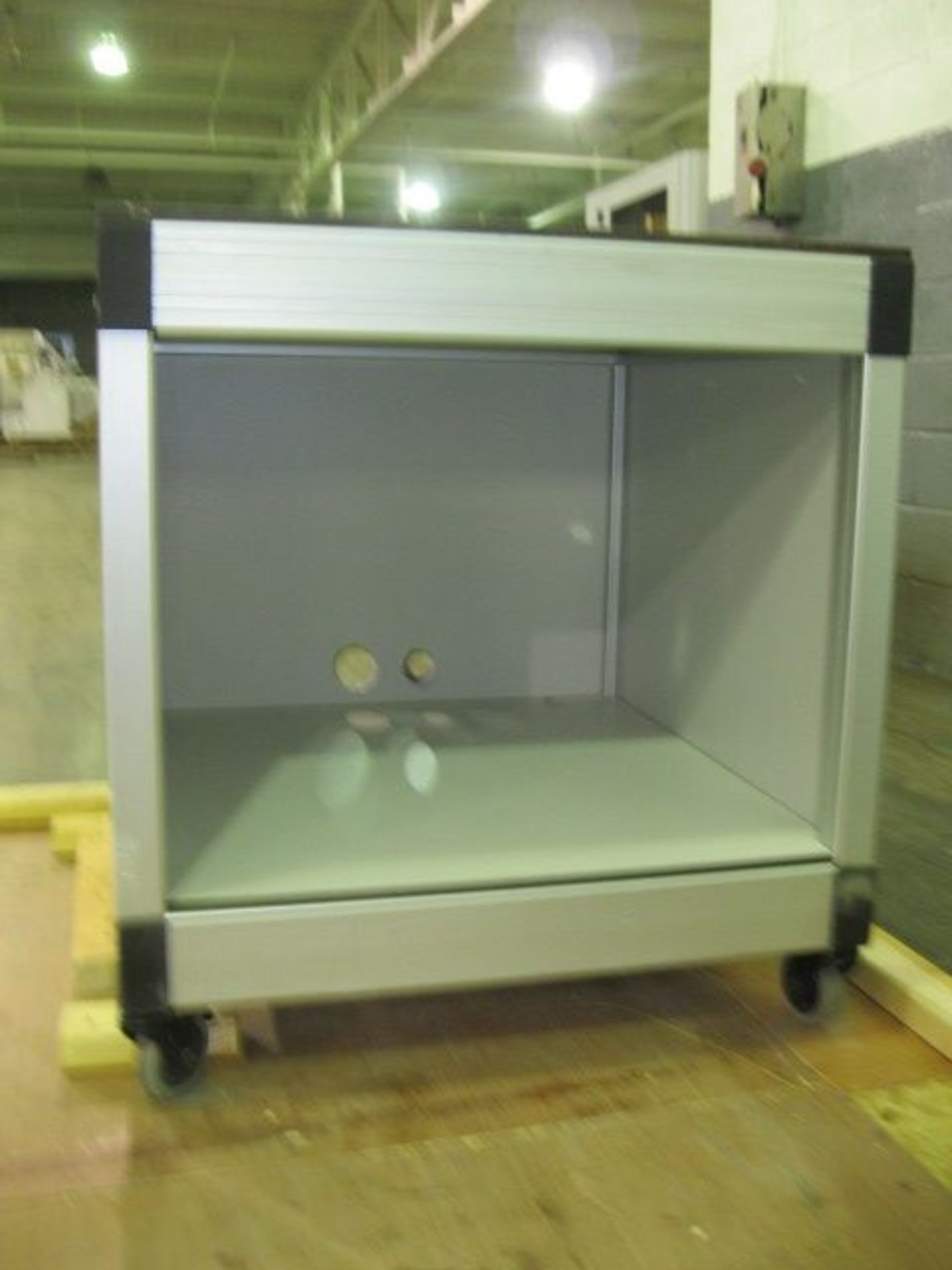 Lot 35 - Buchi lab spray dryer, glass chamber, cyclone and dust collector, with nozzle spray atomizer