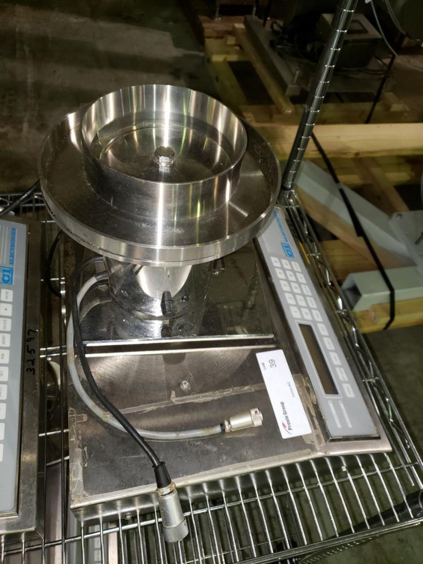 Lot 1 - CI Electronics tablet/capsule checkweigher, 115 volt, serial# TP-389.