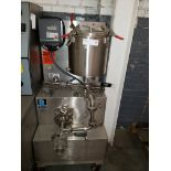 Ross Dual Stage Inline Homogenizer, Model ME400DLS, sanitary stainless steel construction,