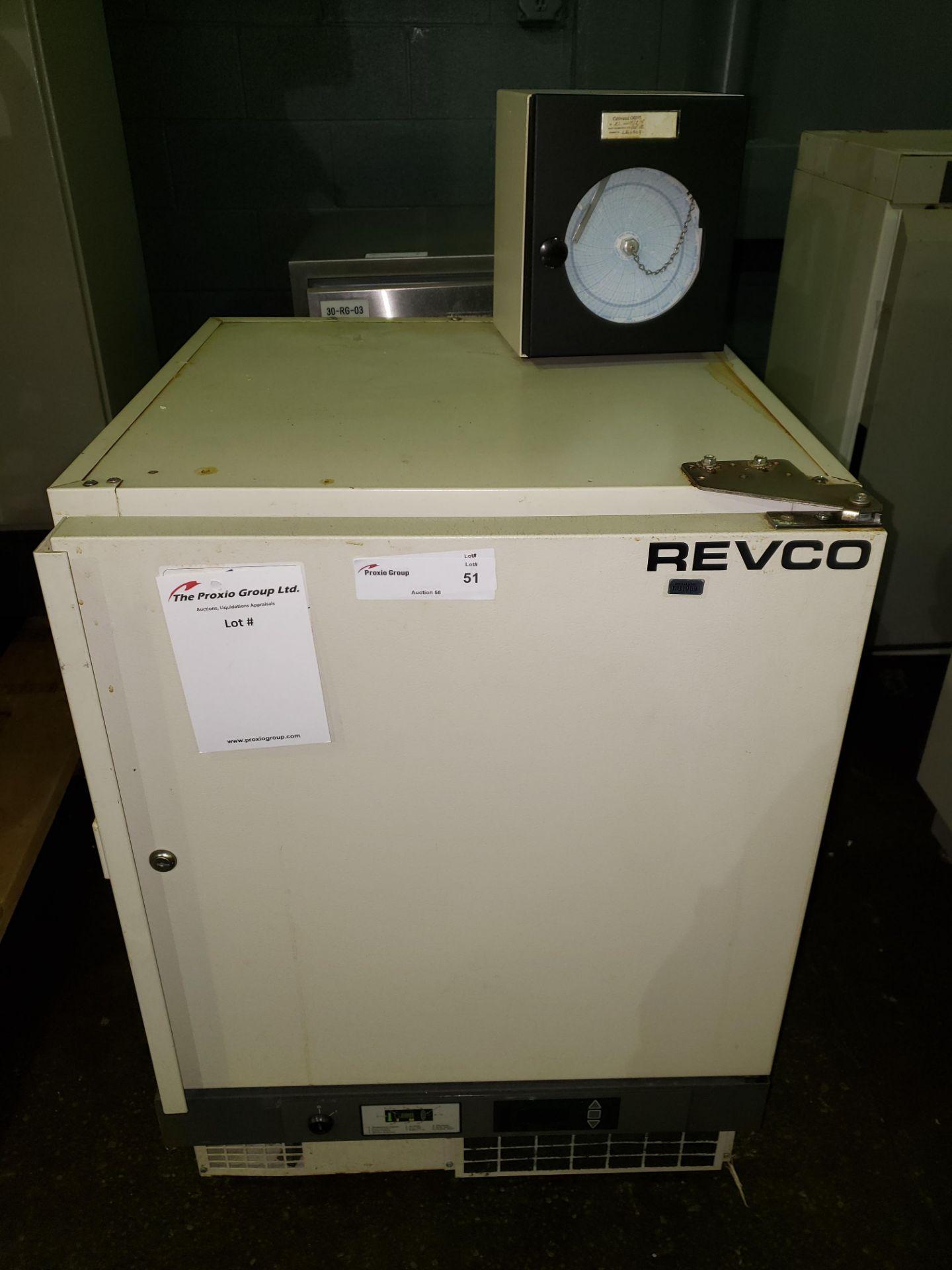 Lot 51 - Revco refrigerator, model UFP430A18, R134a refrigerant, 115 volt, serial# U18N-100240-UN.