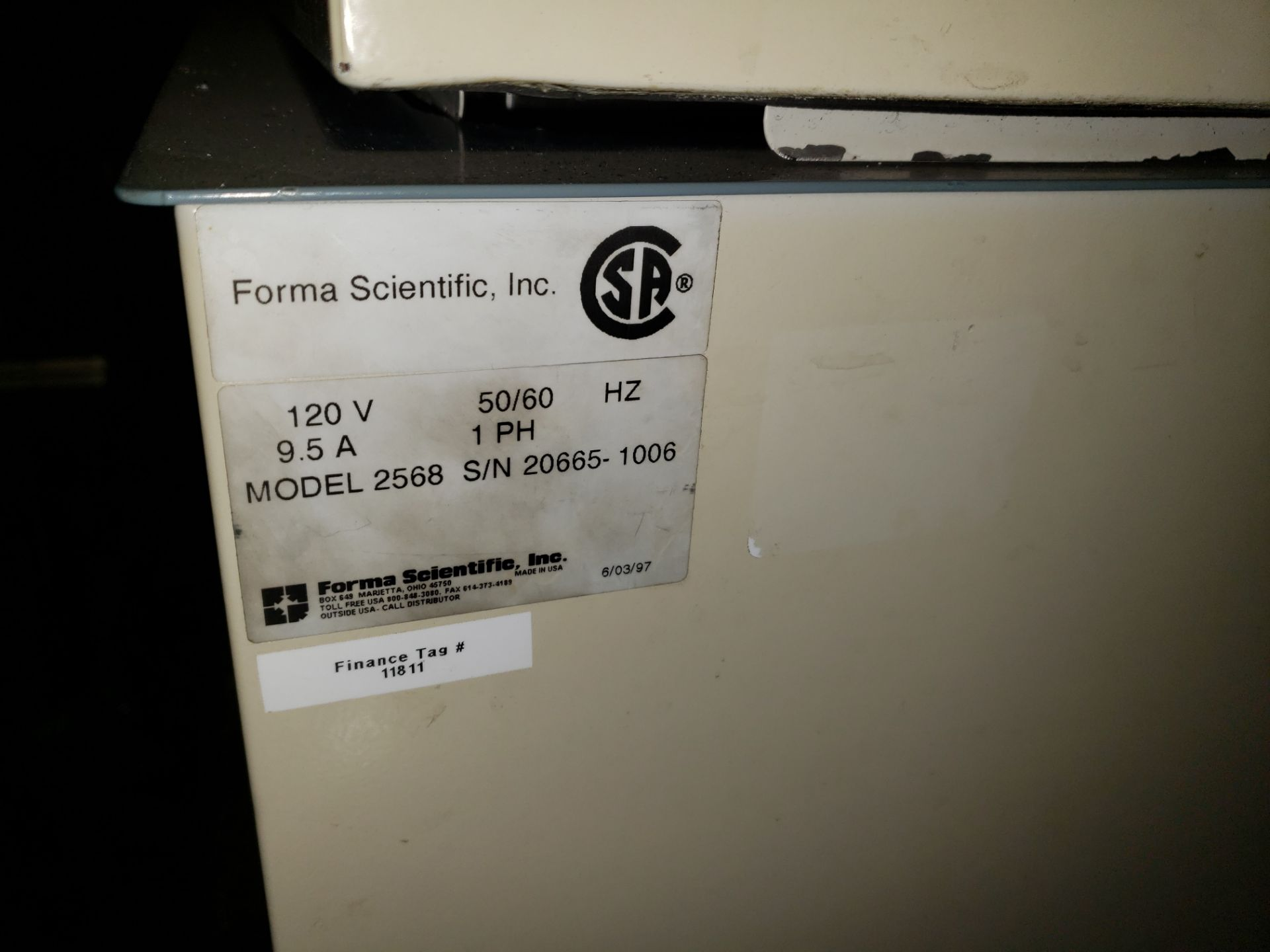 Lot 67 - Forma Scientific model 2568 heated water bath.