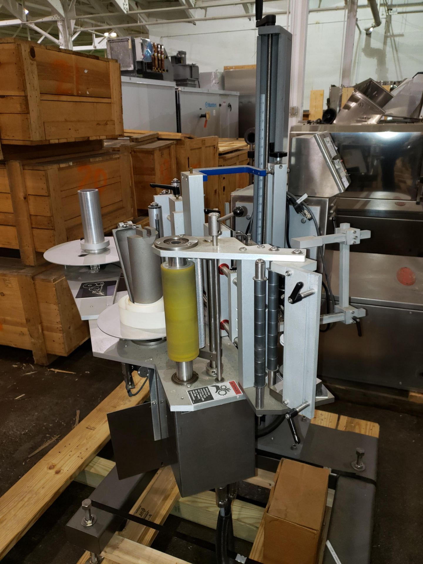 Lot 39 - Used New Jersey print and apply labeler, model 251VL, with smart date coder, with controls on