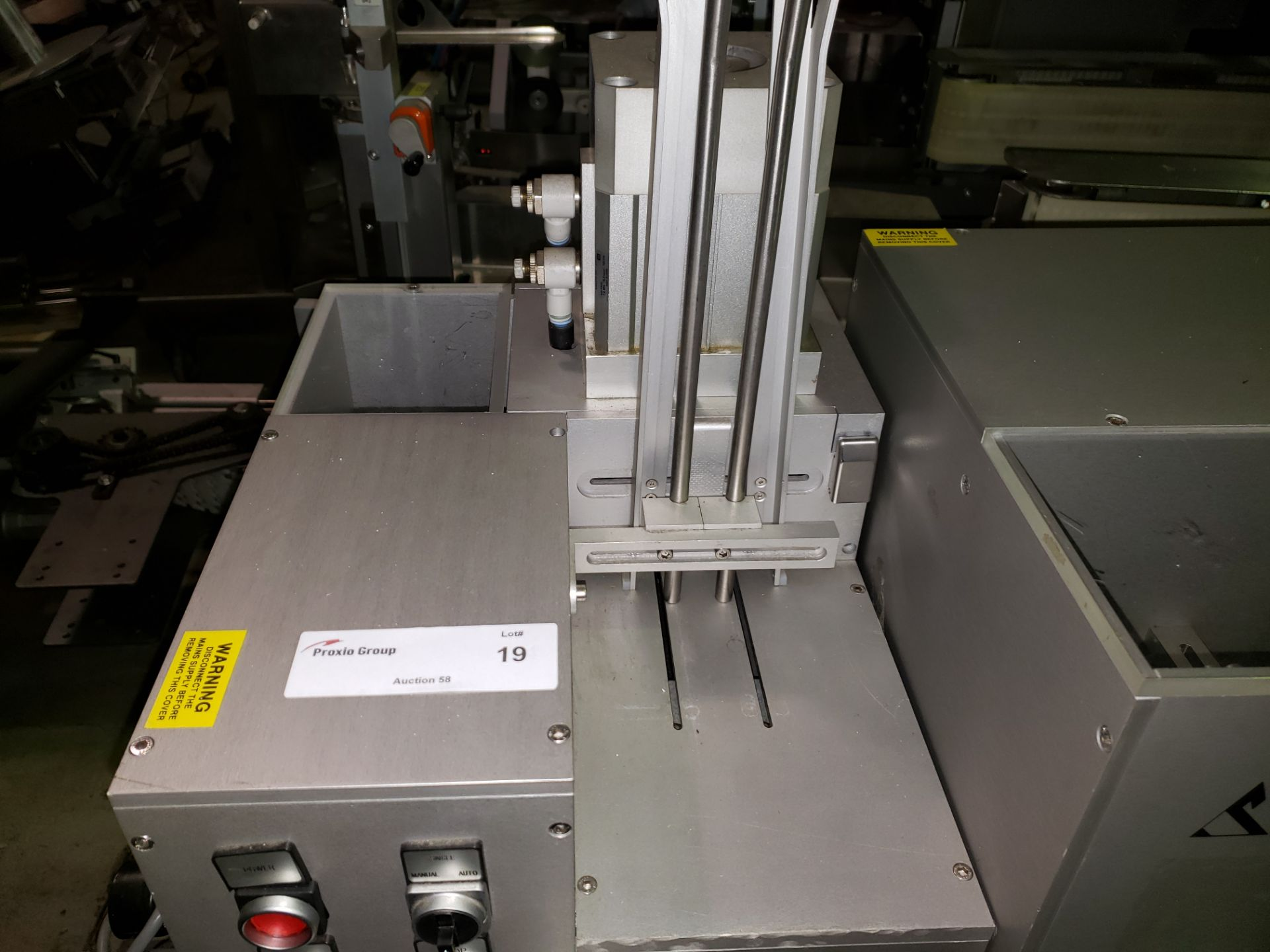 Lot 19 - Sepha Deblistering Machine, (5) lane, 220 volt, with spare rollers and clinical trial change parts.