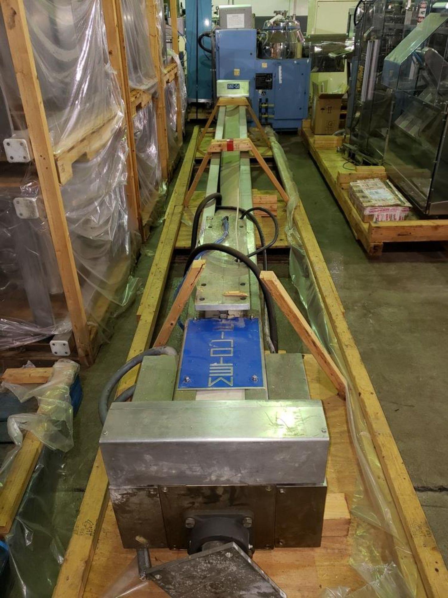 "Lot 59 - Metolift colum lifter/blender, model CBS-200-S, stainless steel construction, 154"" max. lift"