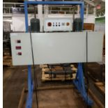 """Heat shrink wrap tunnel, 60"""" long x 6"""" wide heated area, manual height adjustment, with controls,"""