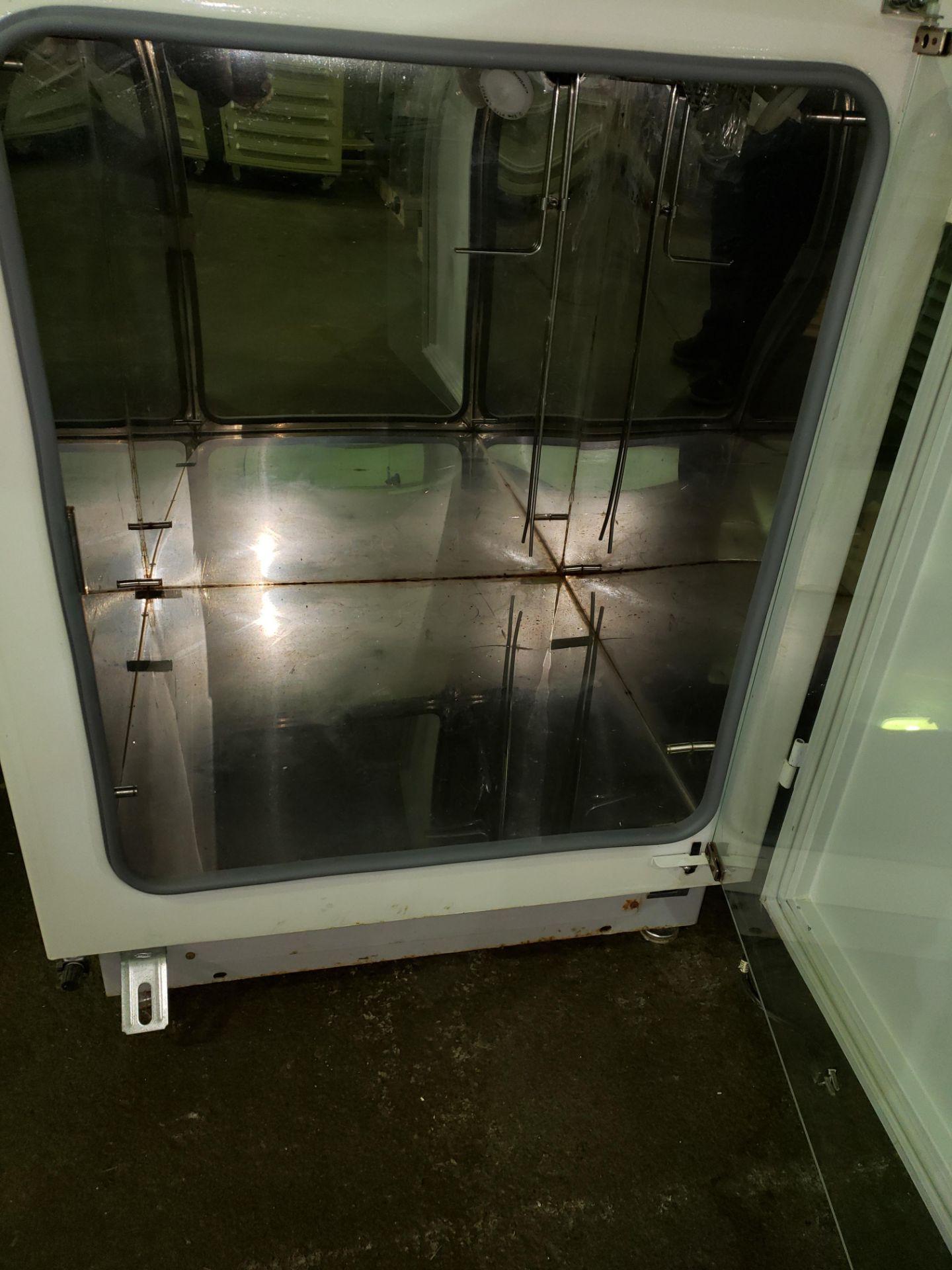 Lot 52 - Nuaire IR Autoflow Incubator, model NU-2500, Series 24, water jacketed, serial# 71532.