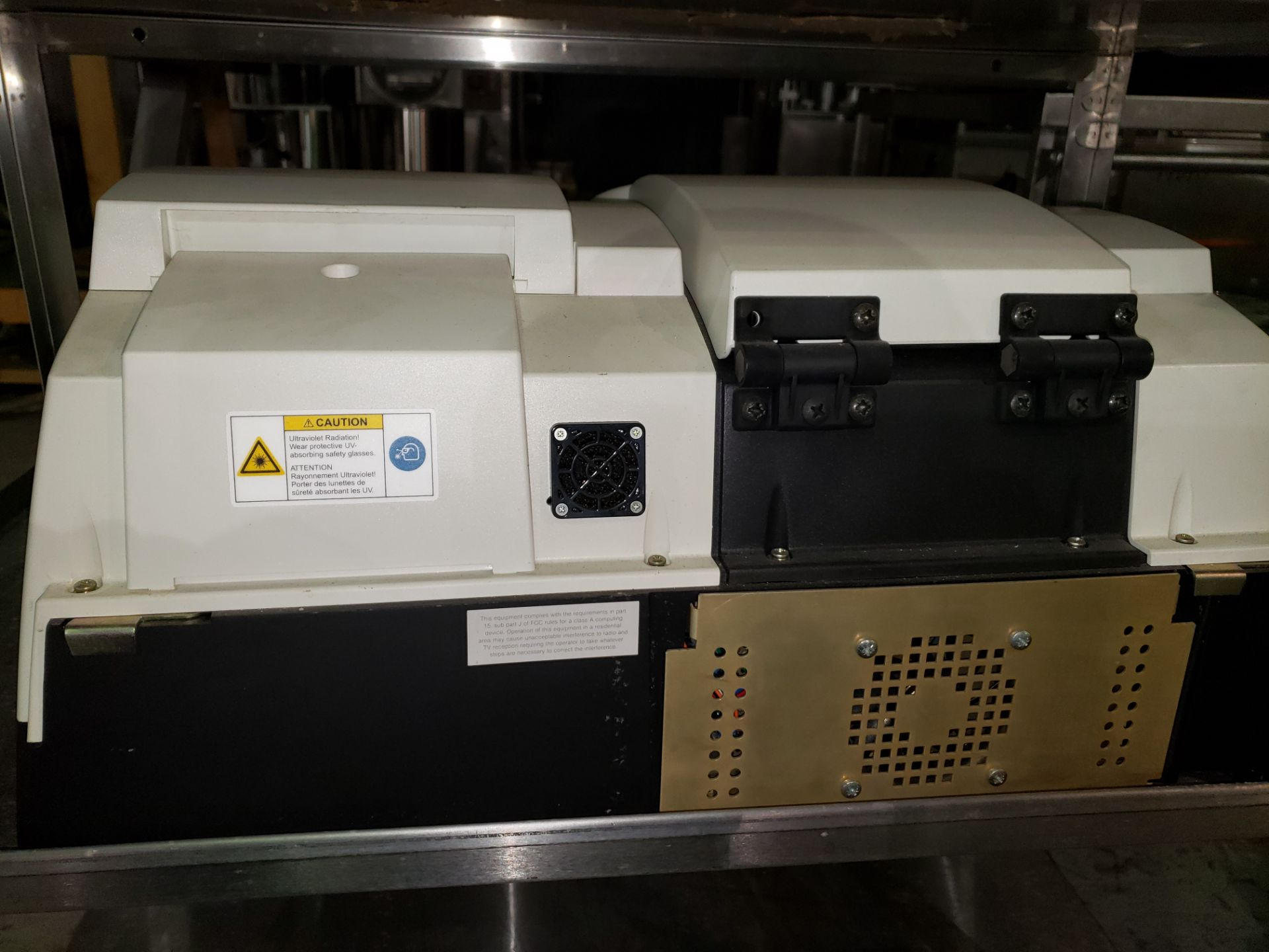 Lot 6 - Therm Electron visible spectrophotometer, model Evolution 300 BB, 110 volt, part# 10300201, serial#