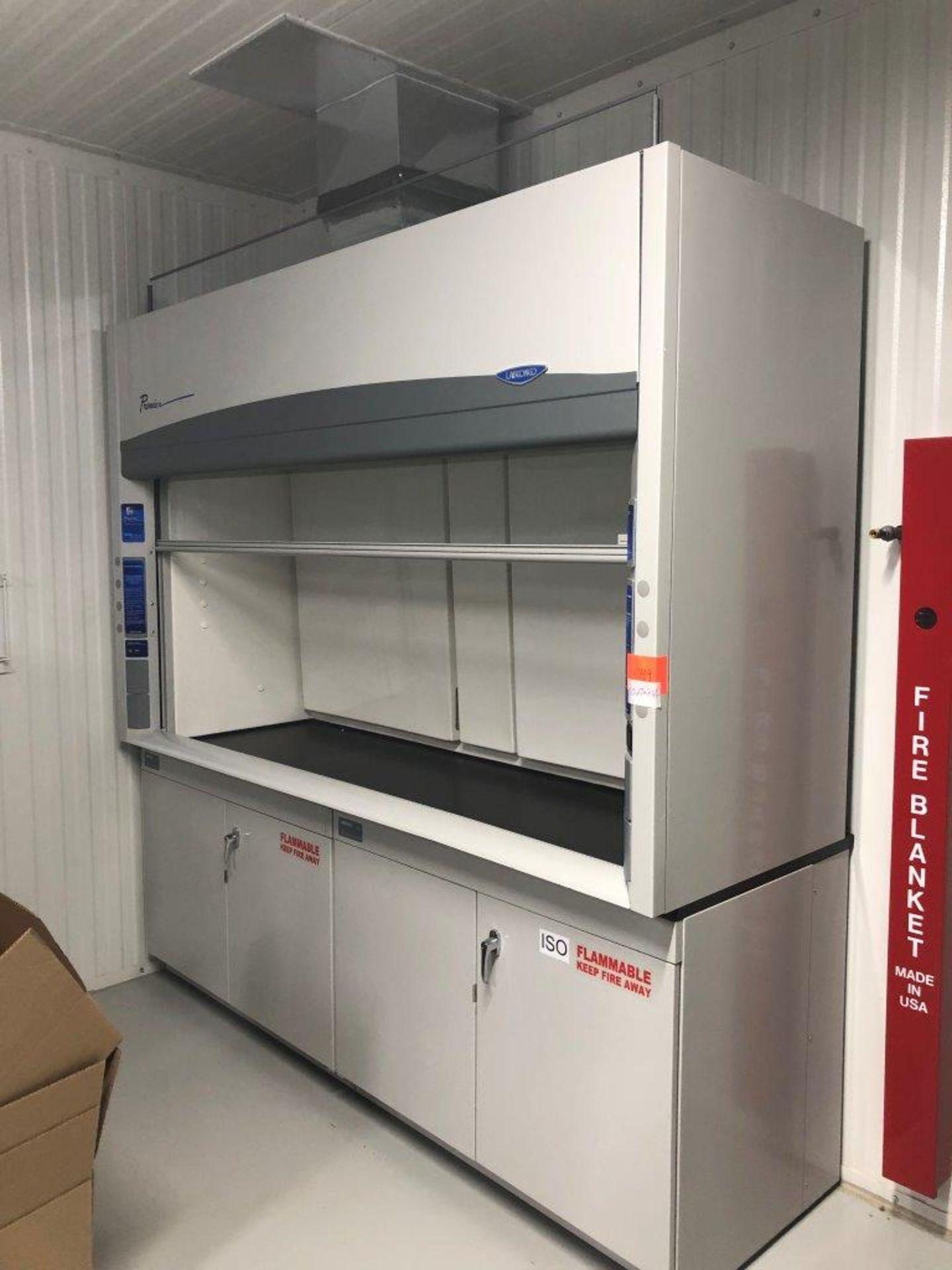 Premier Labconco Laboratory Chemical Fume Hood - Image 2 of 8