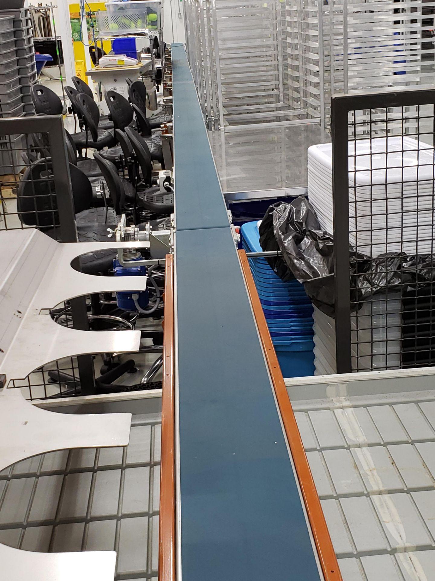 Lot 16 - Javo Conveyor System Model CS-18, Serial number 26800037