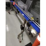 Speedway Stainless Steel Conveyor section Motorized with V/S Control