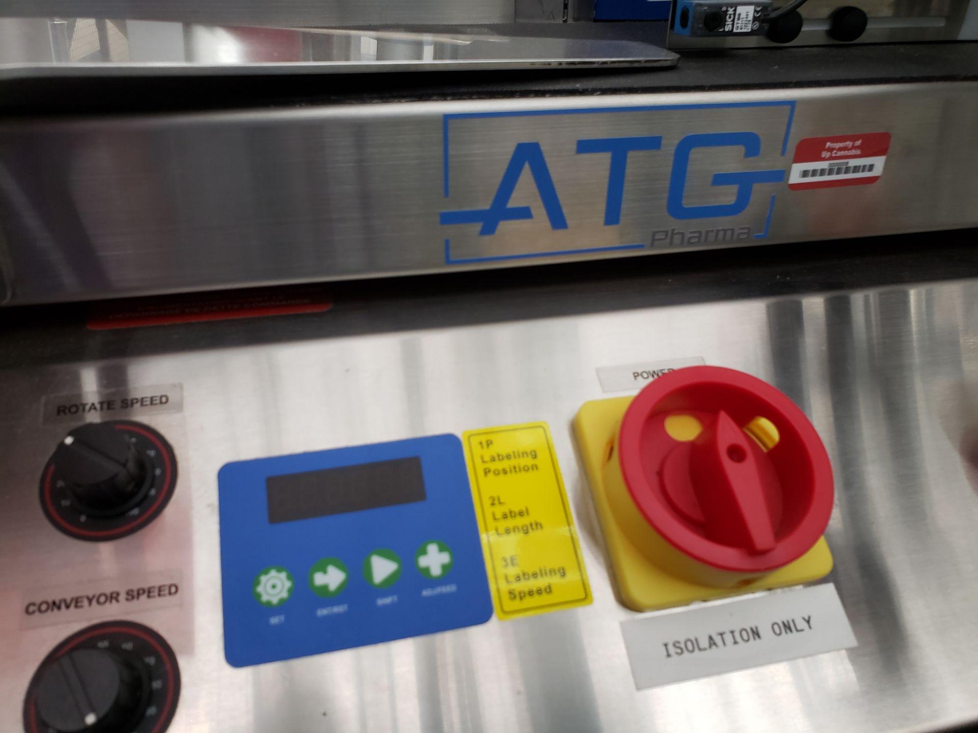Lot 10 - ATG Pharma model ALR-1000 Table Top Wrap Around Labeler