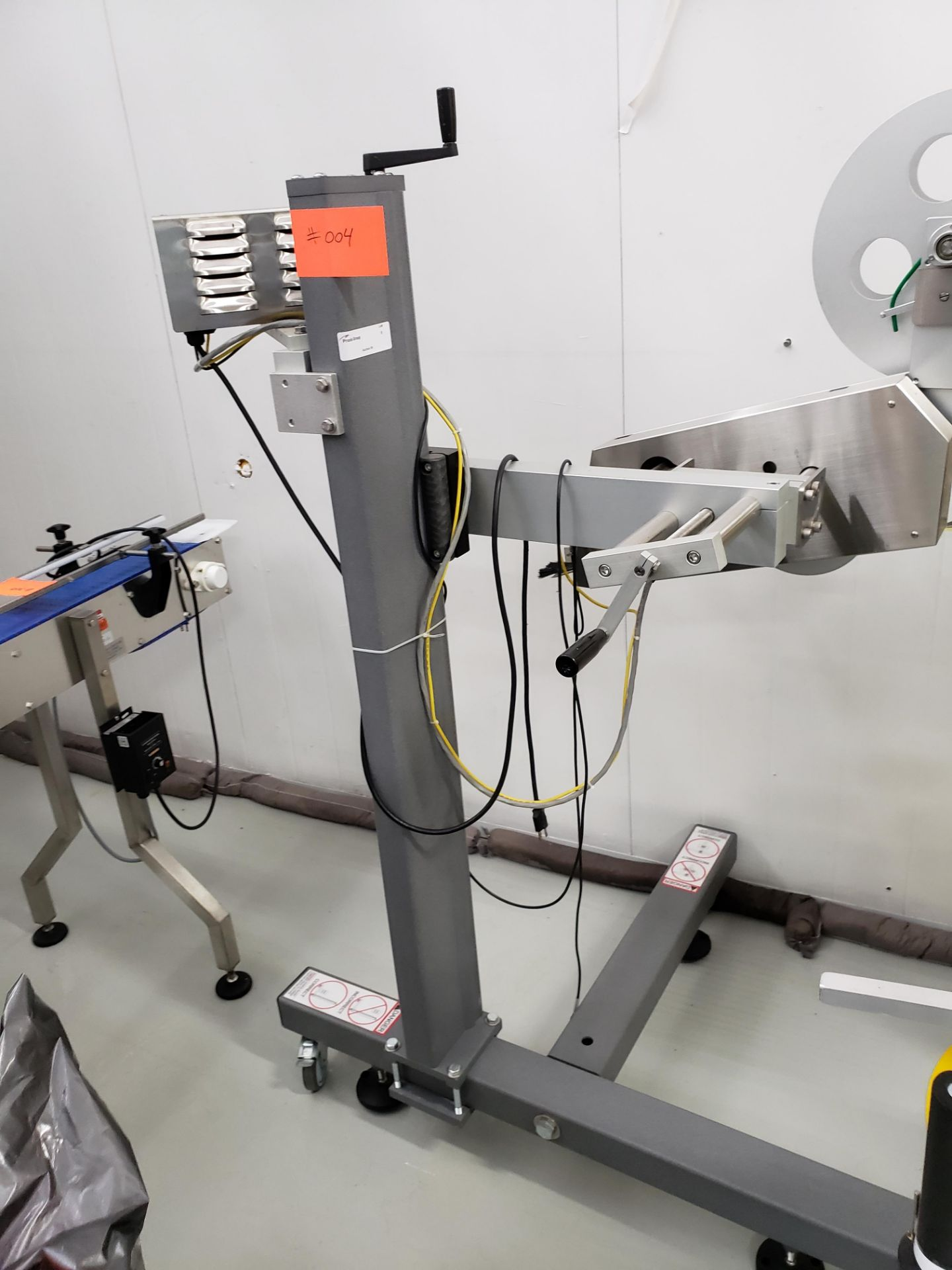 Lot 9 - Speedway Packaging Machinery SPM-10 Stand Label Applicator