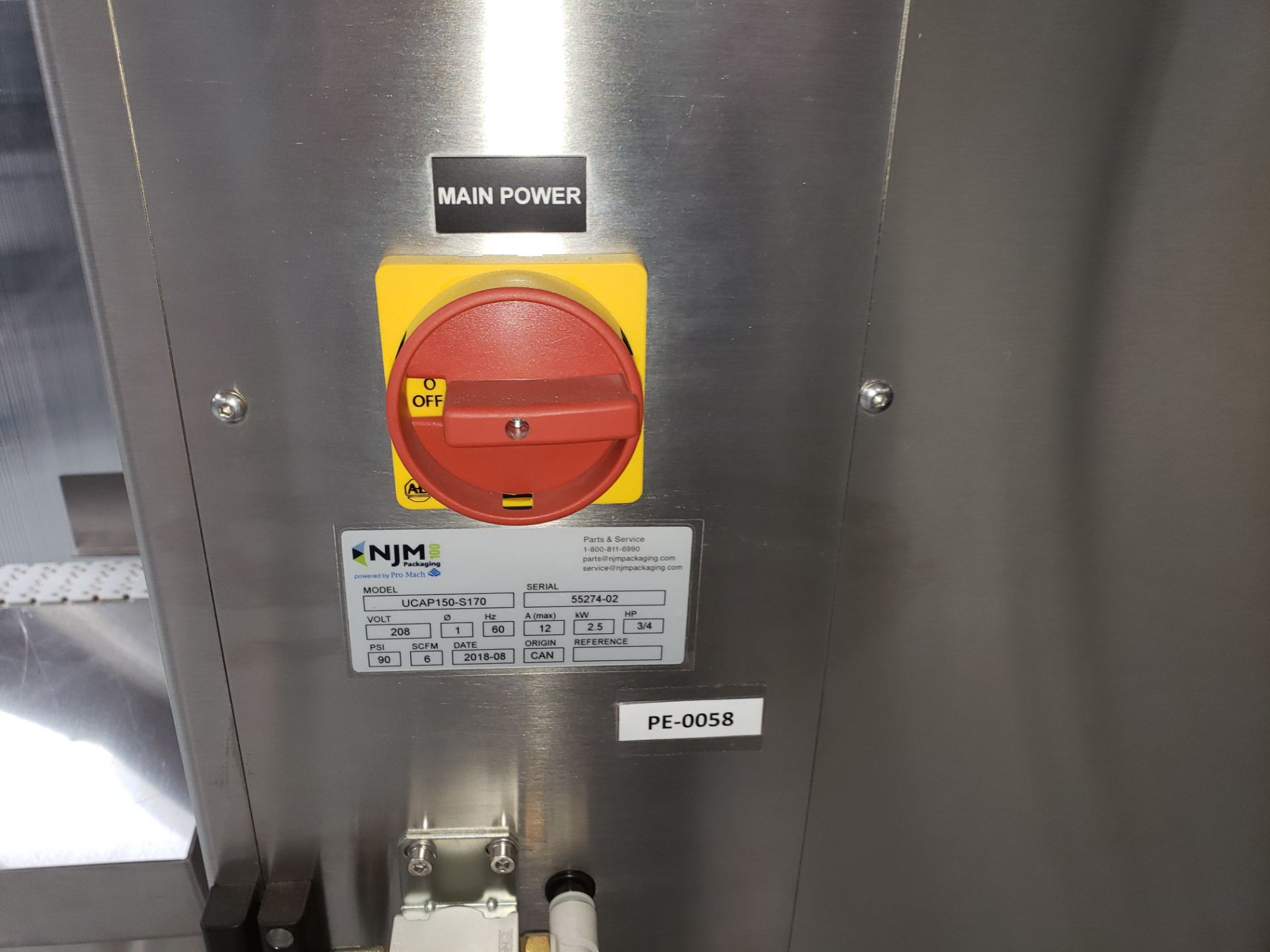 Lot 6 - Paxiom Dry Product Packaging Line -