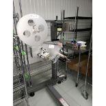Speedway SPM-10 Stepper Driven Stand Label applicator
