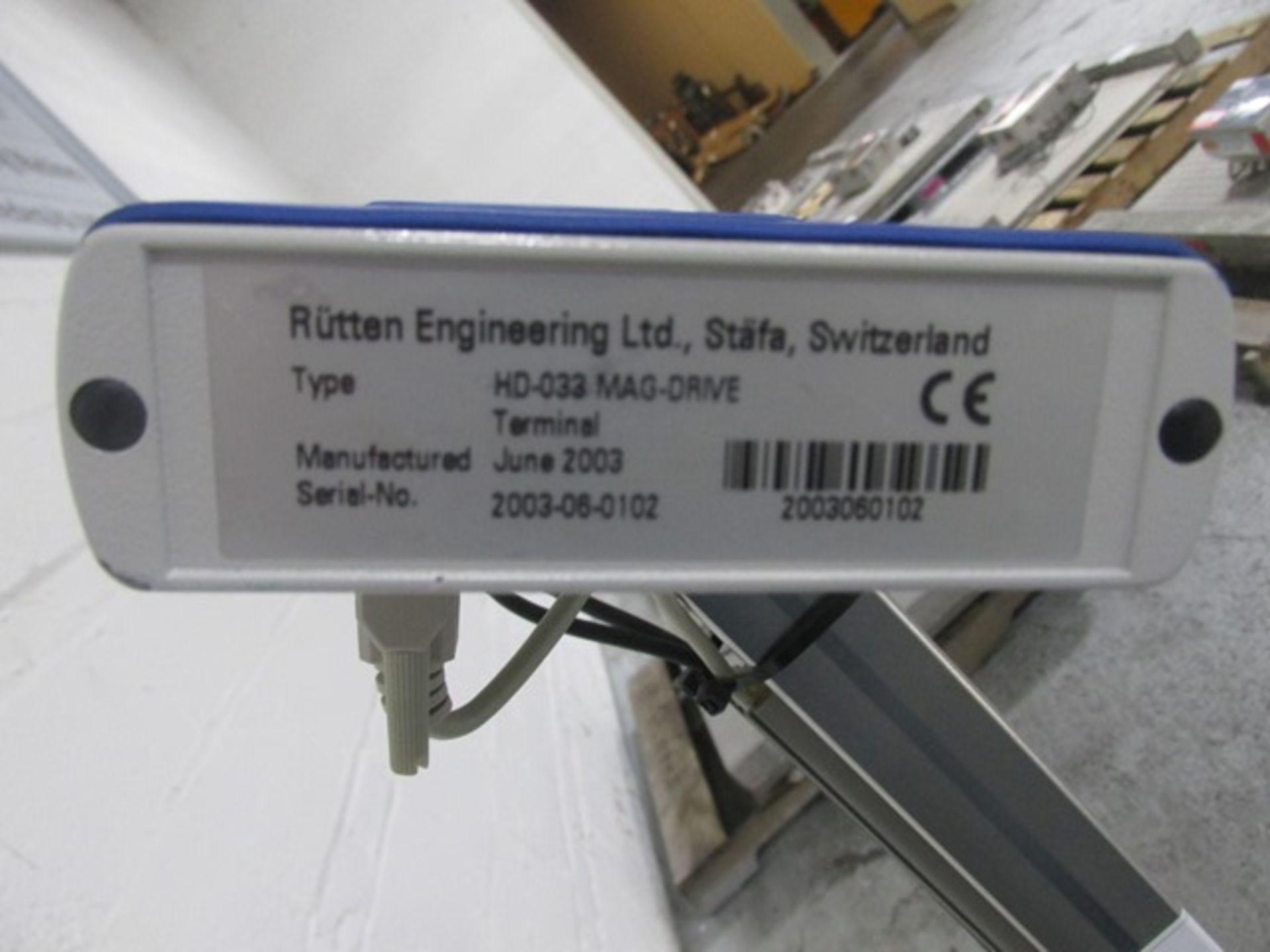 Lot 28 - Rutten Engineering magnetic mixer, model HD-033 MAG-DRIVE