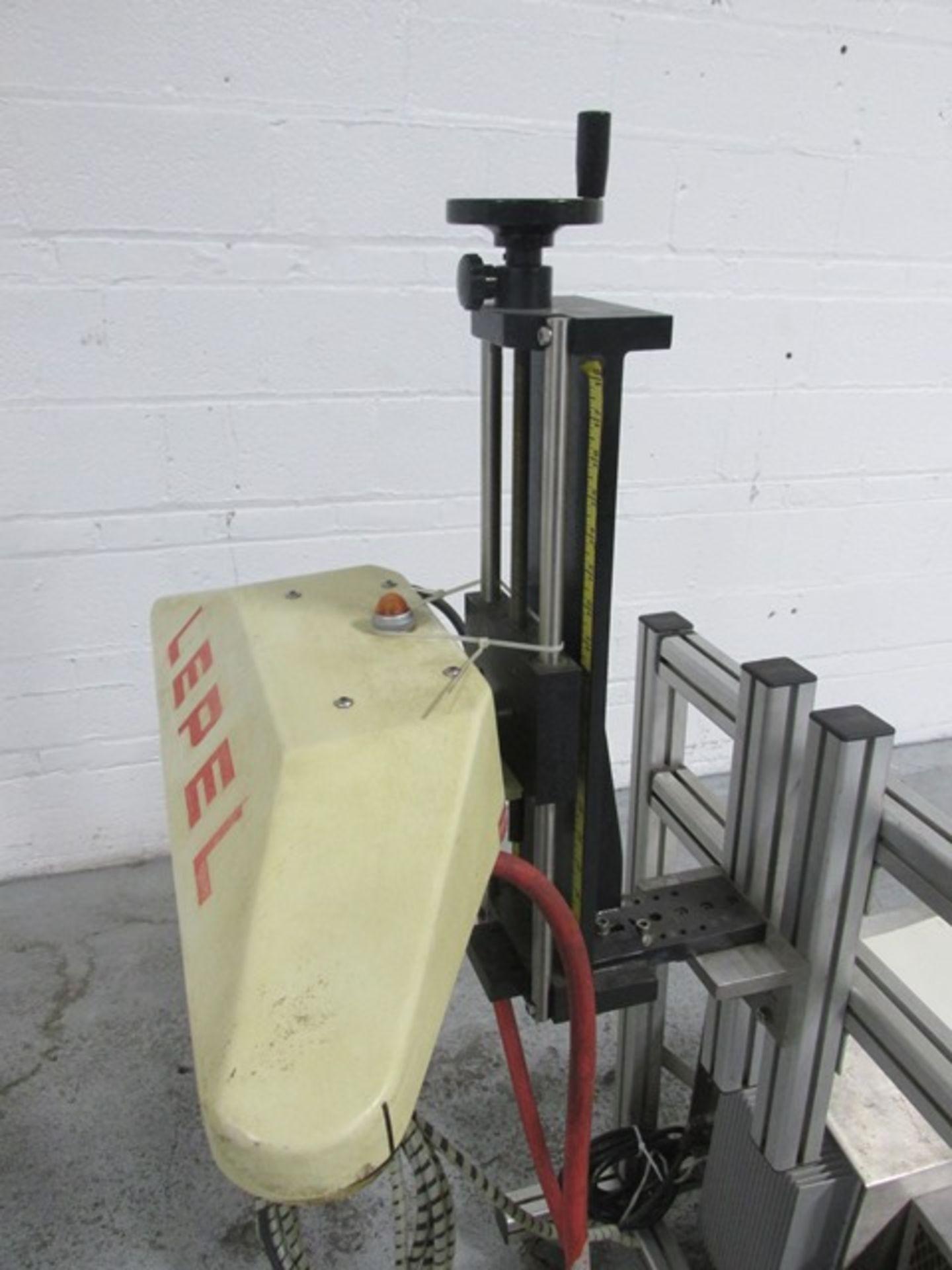 Lot 13 - Lepel induction sealer, type Lepak, model TR-1000A, 115 volt on stand