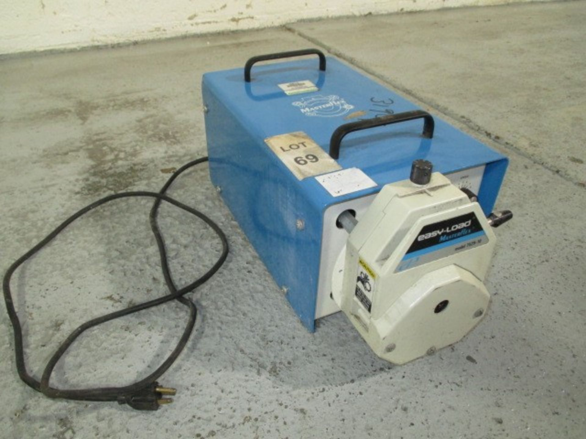 Lot 26 - Cole-Parmer peristalic pump, model 7529-10 w/variable speed