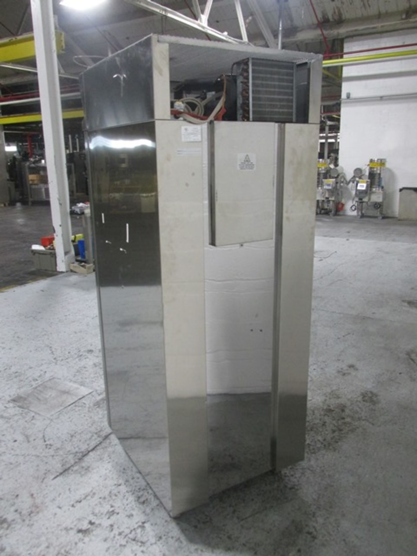"Lot 29 - National Incubator, model NTSC625-B, stainless steel interior, 21"" wide x 24"" deep x 52"" high"