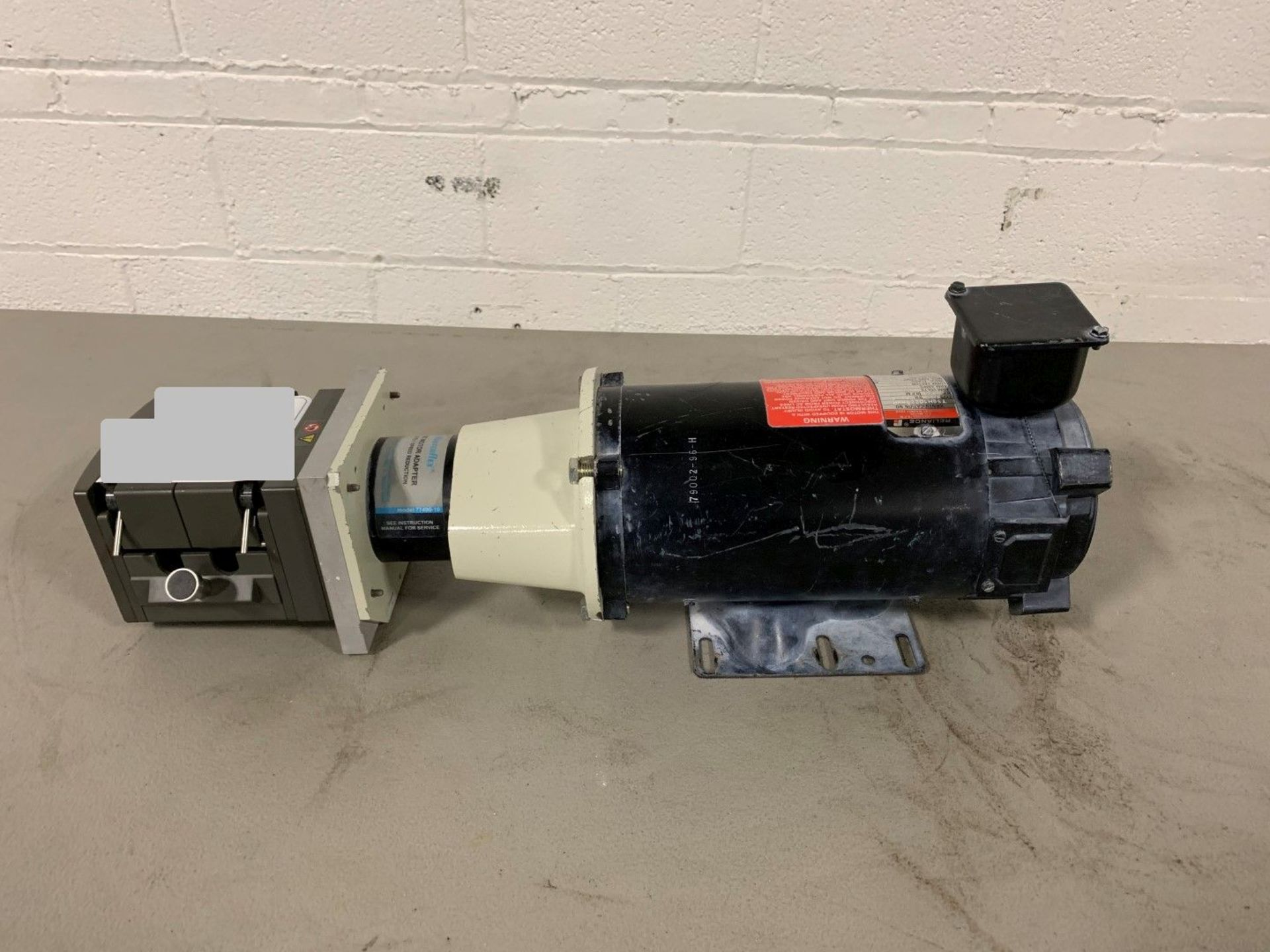 Lot 18 - Watson Marlo dual peristaltic pump, 3/4 hp DC motor.