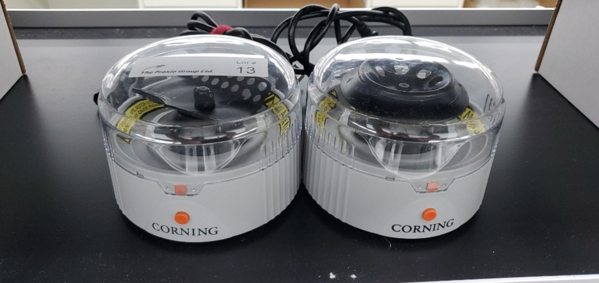 Lot 13 - (2) Corning 6765 Series Bench Top Centrifuges