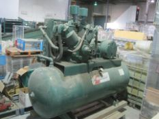 25 HP Champion Air Compressor with Airtek Dryer **See Auctioneers Note**
