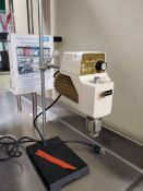 Fisher Scientific StedFast Laboratory Stirrer, Model SL1200, 110 volts, on stand, serial# 2/83.