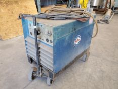 Miller Arc Welder, Model SRH 333X, portable, with cables, 230/460 volt, 3 phase, serial# R377632.