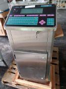 Imaje Printer, type Jaime 1000S4plus, with printer head, 110 volts, serial# 7451R7, built 1997.