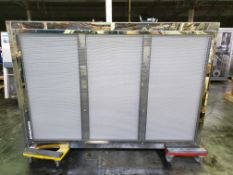 """ReynoldsTech HEPA filter unit, 75"""" x 47"""" filter area, (3) zones with blowers"""