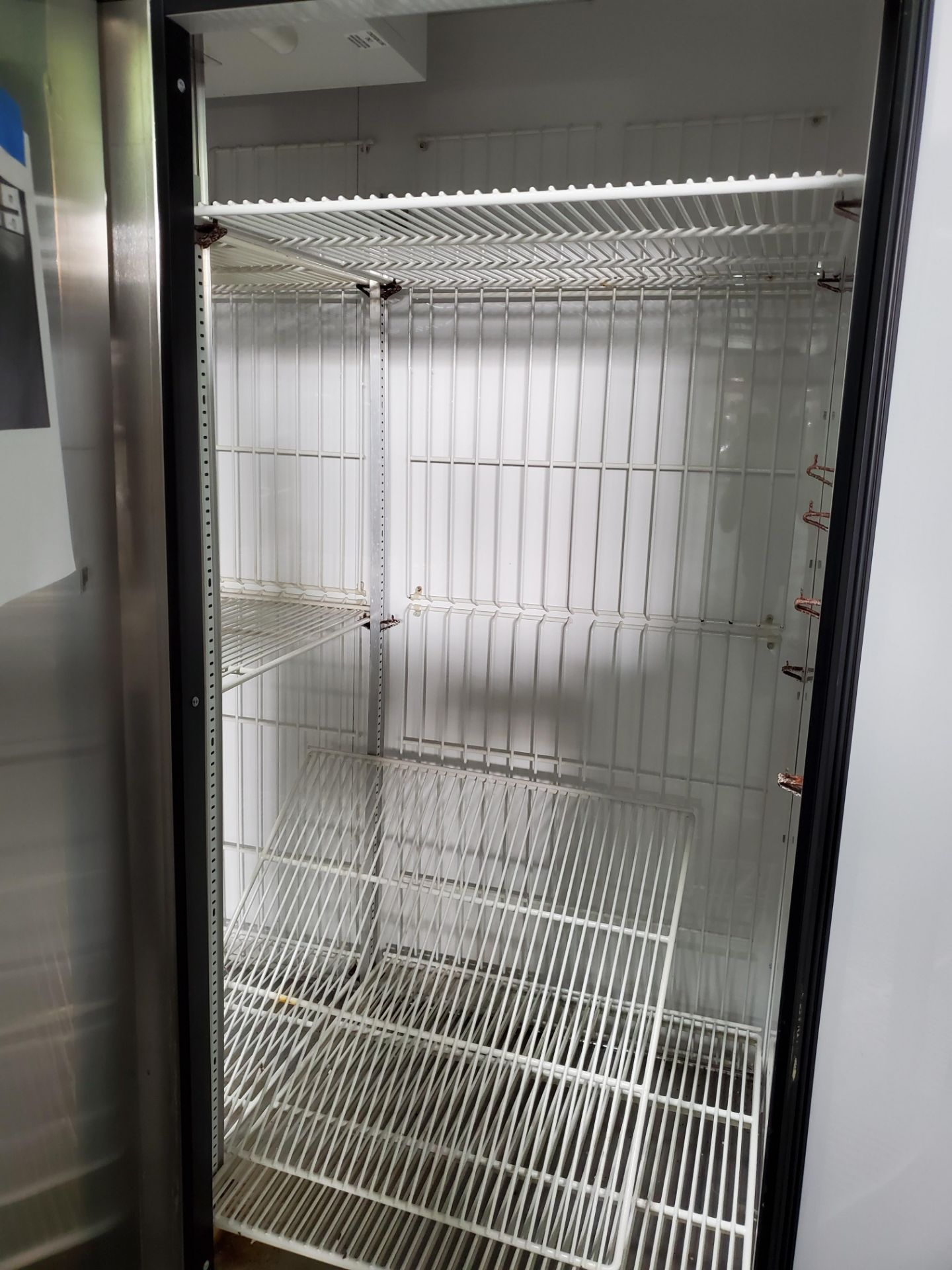 "(3) door Lab Line Freezer, model T-72F 75"" wide x 24"" deep x 52"" high chamber, R404A refrigerant, - Image 6 of 7"