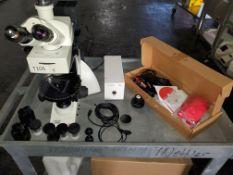 Leica Modular Polarization Microscope, model DM2500P, complete with parts, 115 volt