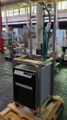 VWR/Polyscience Temperature Control Unit with shell and tube heat exchanger, model 1177