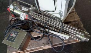 5 hp Ross Emulsifier, model HSM 105 SLIM, 3500 RPM, 208-230/460 volts,