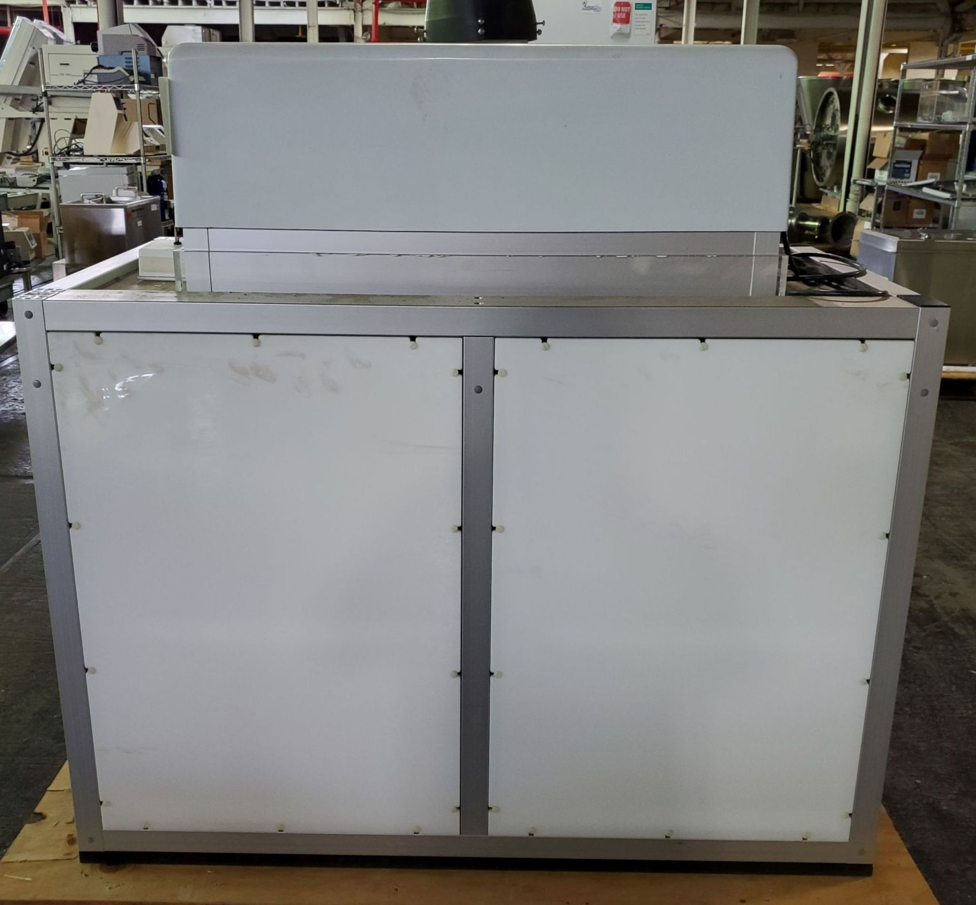 Flow Sciences HEPA Flow Hood/Glovebox, enclosure model FS5000-108 - Image 6 of 10