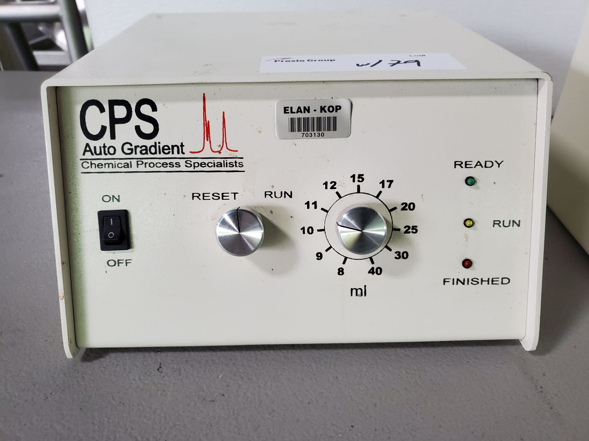 CPS Autosampler, model AS200, with CPS AG300 dual pump, 120 volts, autosampler serial# AS535. - Image 5 of 7