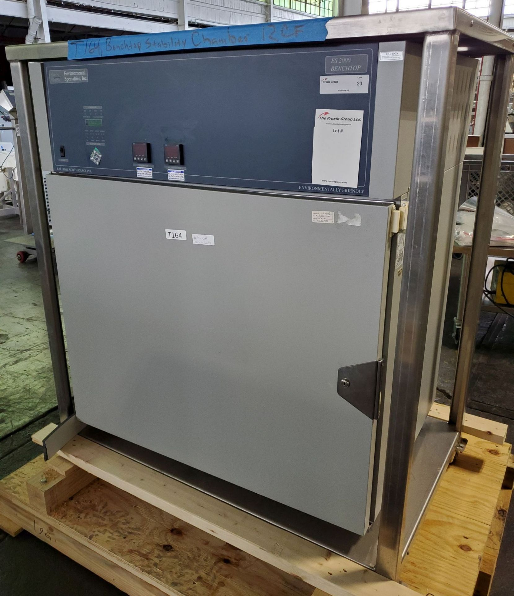 Environmental Specialties Stability Chamber, model ES2000 CDM/BT, 0-70 C and 10-96% humidty range,