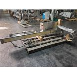 """Servolift Drum Lifter/Tipper, type HF, stainless steel construction, 70kg/155 lb max, 92"""" rise,"""
