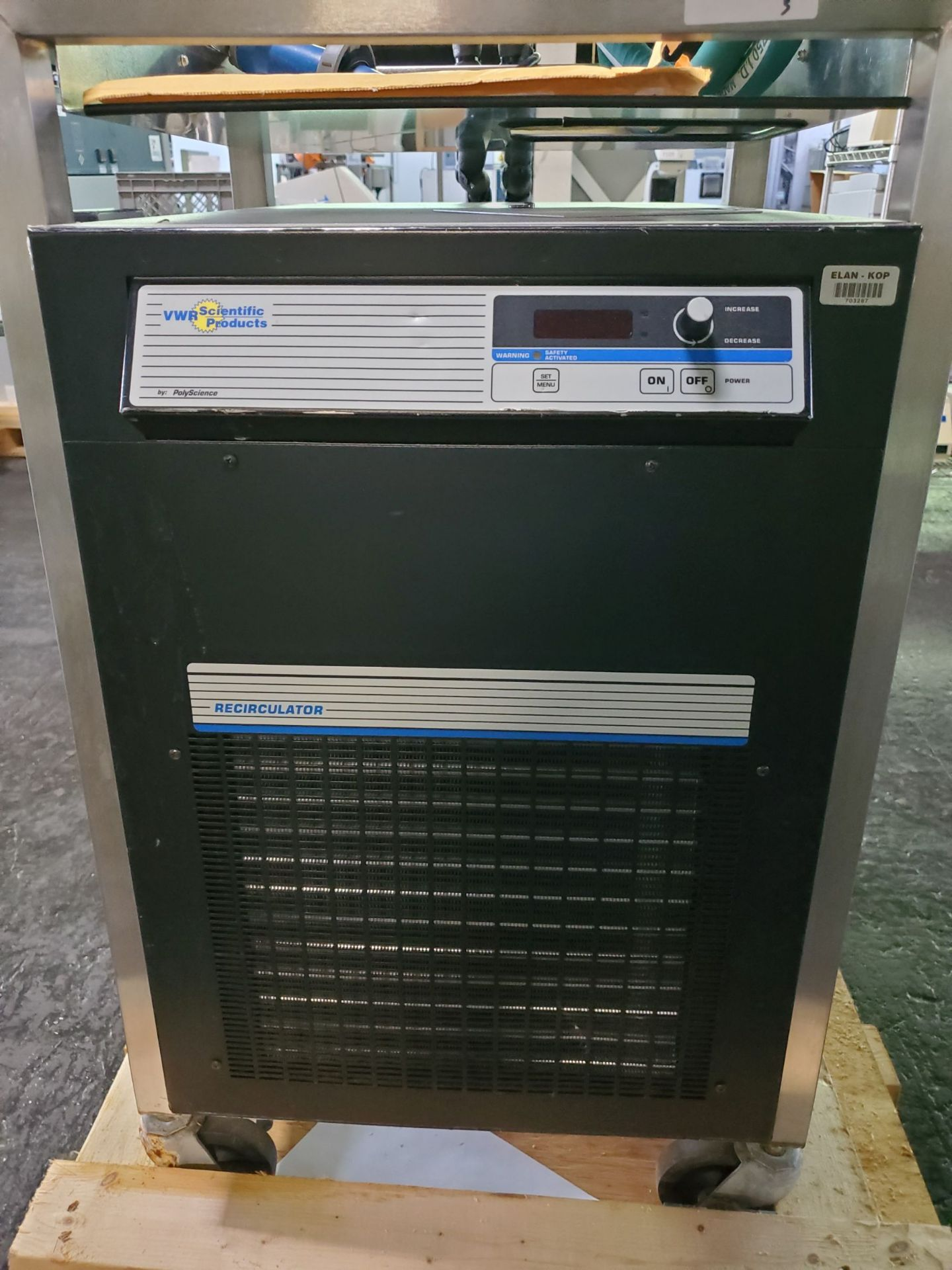 Lot 3 - VWR/Polyscience Temperature Control Unit with shell and tube heat exchanger, model 1177