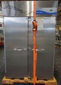 "Fisher Scientific Isotemp Plus Freezer, 48"" wide x 25""deep x 60"" high chamber"