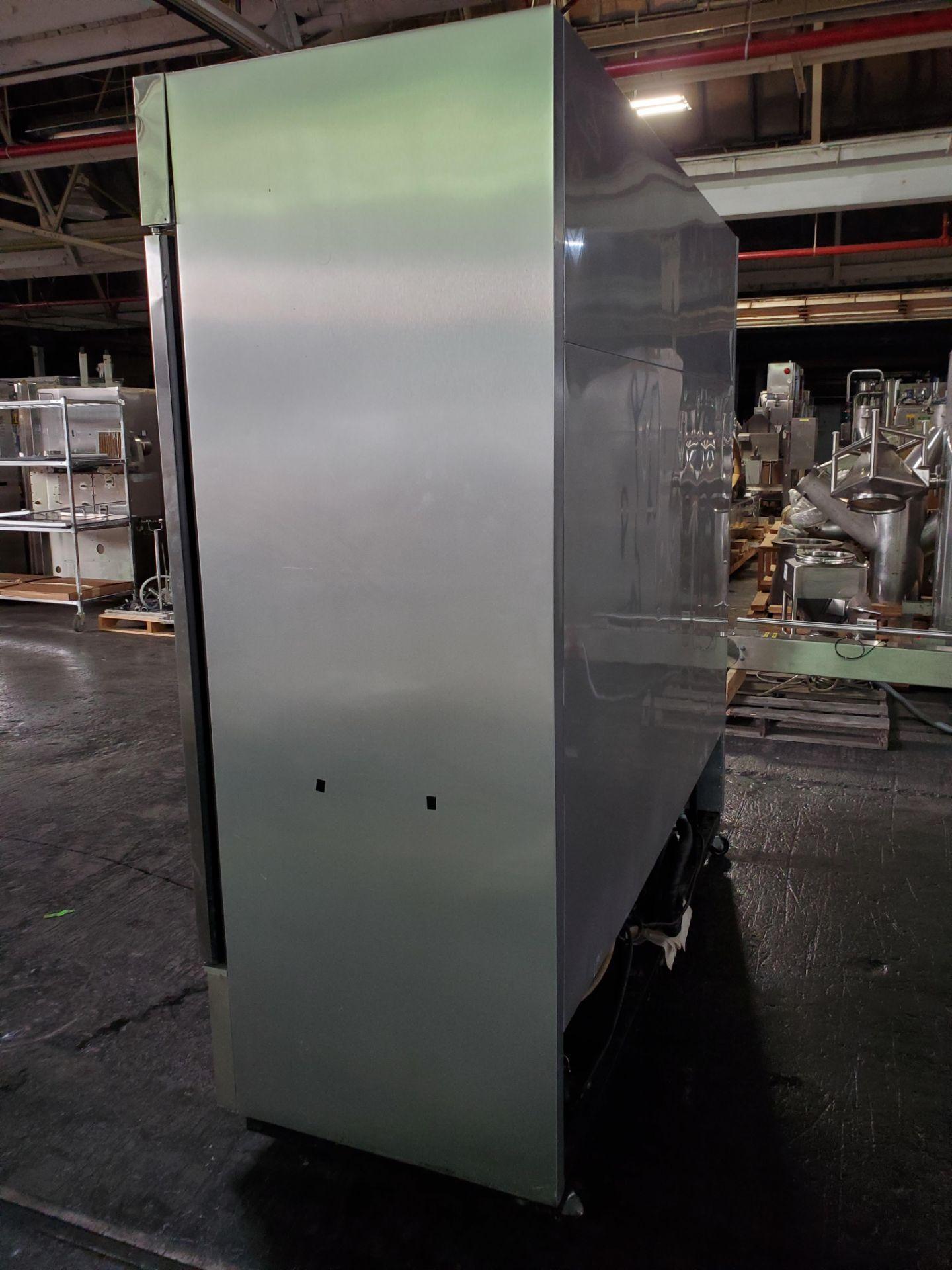 "(3) door Lab Line Freezer, model T-72F 75"" wide x 24"" deep x 52"" high chamber, R404A refrigerant, - Image 3 of 7"