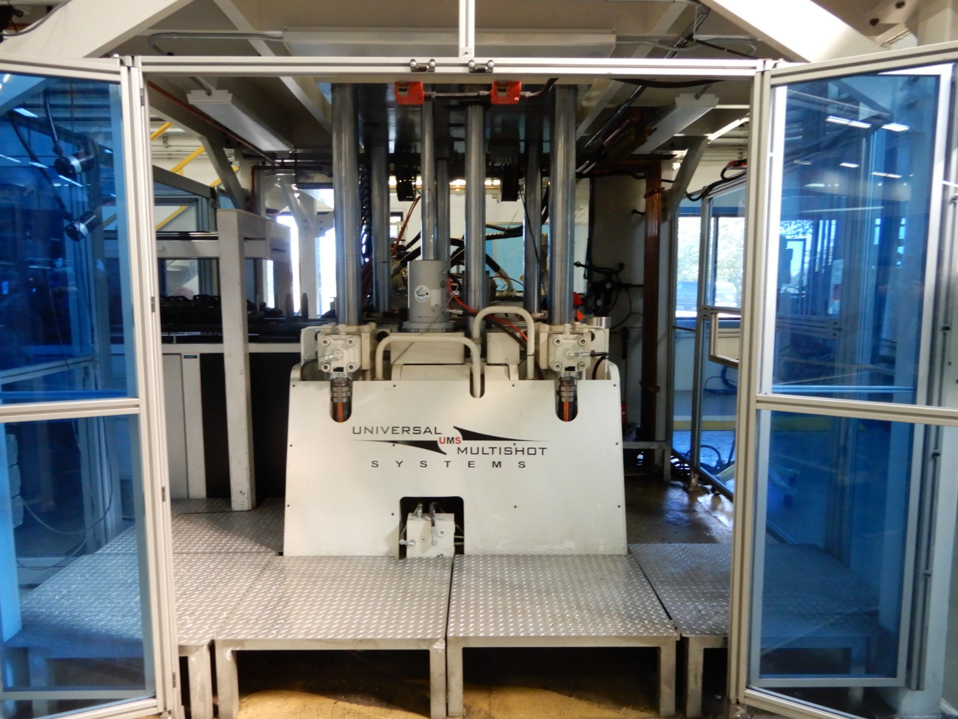 Lot 1 - NEFF 200 Ton 4-Post Down Acting Hydraulic Press (Vertical Injection molding system)