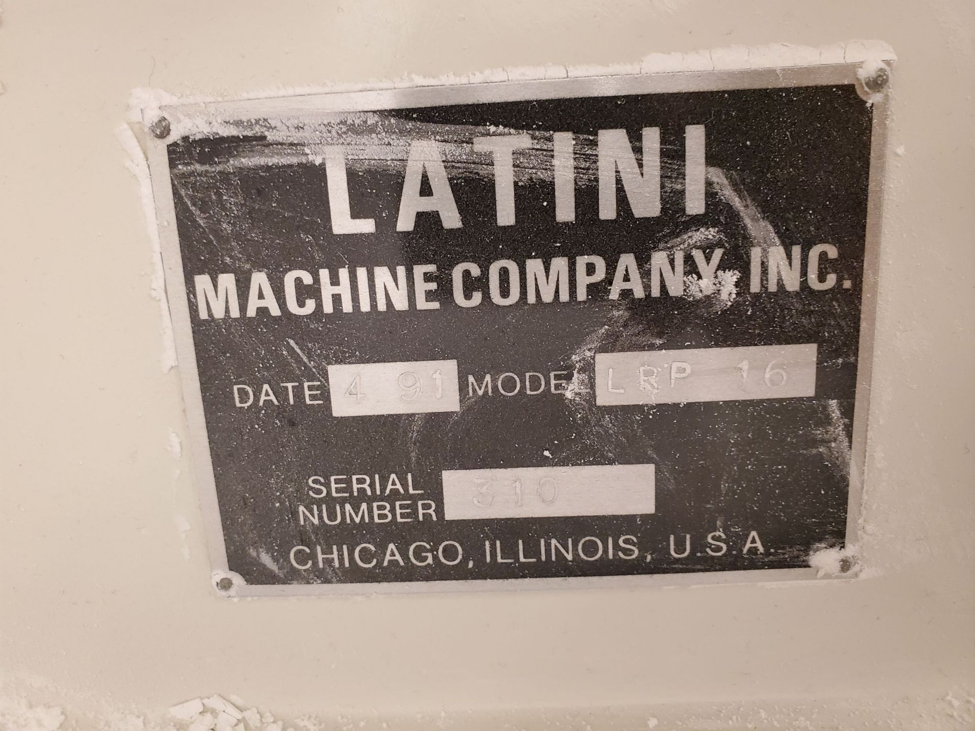 Latini Coating Pan - Bench Top - Image 5 of 5