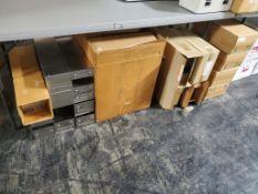 Large Lot of Stainless Steel Freezer Storage Racks