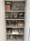 Lot of assorted laboratory glassware